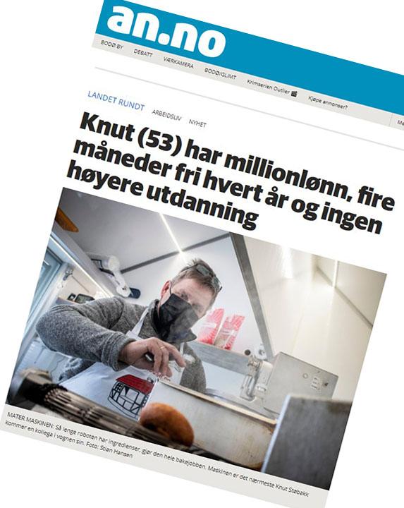 Faksimie fra Avisa Nordland 21.03.21